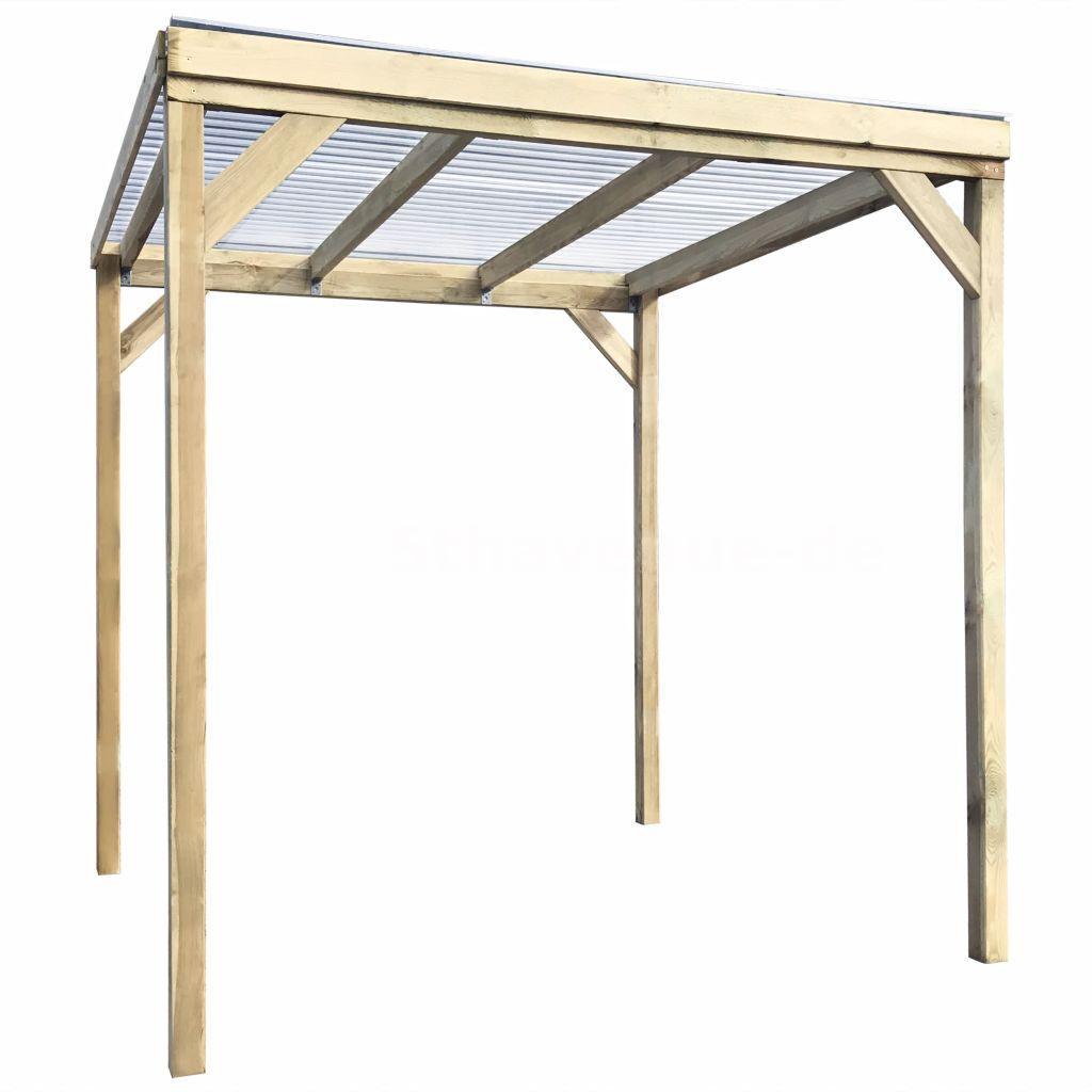 holz-unterstand für feuerholz 2 x 2 x 2 m o2o9 | ebay
