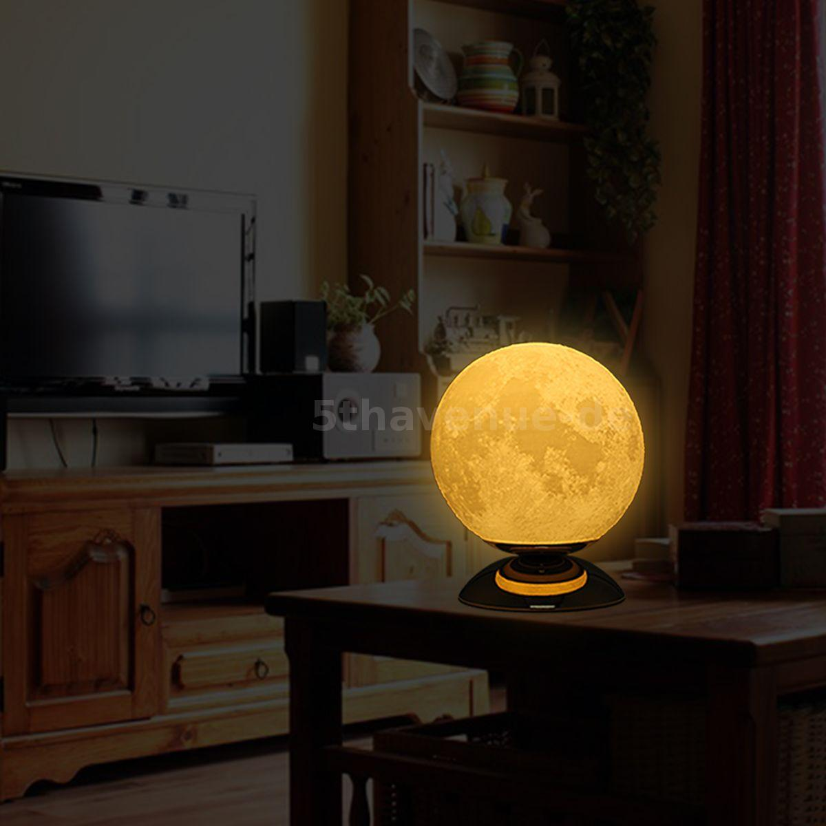 Tooarts Moon Lamp 3D-Druck-Lampe Moderne Skulptur Hauptdekoration ...